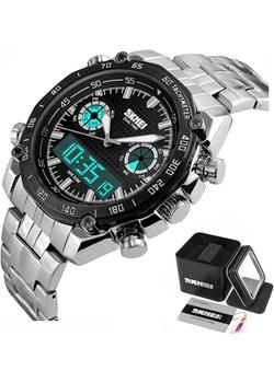 Zegarek męski ELEGANCKI SKMEI 1204 TACHOMETR black Skmei okazyjna cena skmei.shop - kod rabatowy