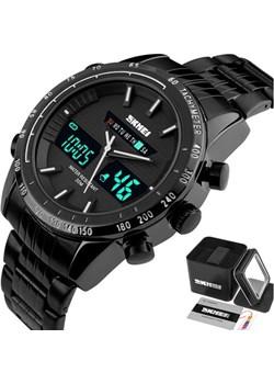 Zegarek MĘSKI SKMEI 1131 biały TACHOMETR LED Skmei okazja skmei.shop - kod rabatowy