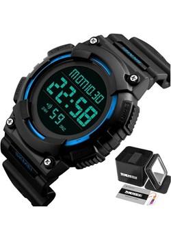 Zegarek męski sportowy SKMEI 1248 blue LED data Skmei promocyjna cena skmei.shop - kod rabatowy