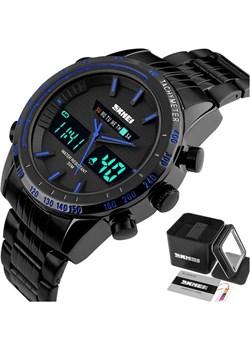 Zegarek MĘSKI SKMEI 1131 niebieski TACHOMETR LED Skmei promocyjna cena skmei.shop - kod rabatowy