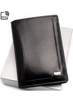Cienki męski portfel skórzany Rovicky CPR 045 BAR C Rovicky szary Galmark - kod rabatowy