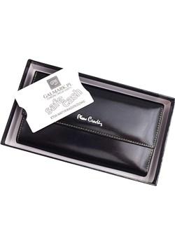 Portfel damski skórzany Pierre Cardin 520.2 322 C Pierre Cardin czarny Galmark - kod rabatowy