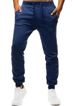 Spodnie męskie dresowe niebieskie UX2709 Dstreet promocja DSTREET - kod rabatowy