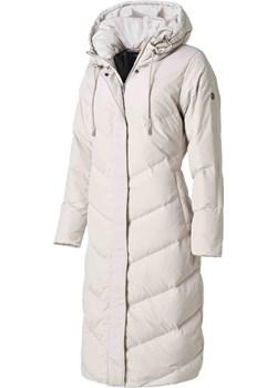 SAKI PENNY 110 cm - Puchowy płaszcz w kolorze kredowym z kapturem. Saki promocja cordon.pl - kod rabatowy