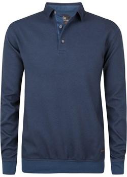Bluza męska z kołnierzykiem - niebieska promocja Evolution - kod rabatowy