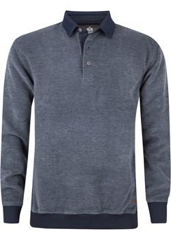 Bluza męska z kołnierzykiem - szara promocyjna cena Evolution - kod rabatowy