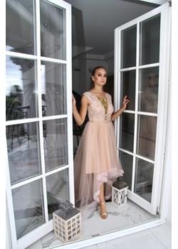 Sukienka wieczorowa Weronika Łosoś Rokado Rokado - kod rabatowy
