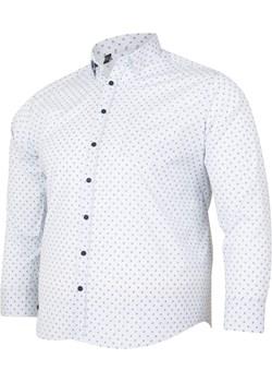 Koszula męska z długim rękawem PRINT Bigsize wyprzedaż BigSize - kod rabatowy