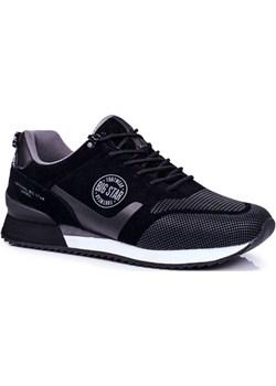 Sportowe Męskie Buty Sneakersy Big Star Czarne GG174548 wyprzedaż bugo. - kod rabatowy