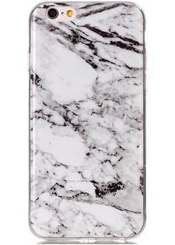 Etui na iPhone 7 silikonowe TPU marmur - biały. Etuistudio wyprzedaż Etuistudio - kod rabatowy