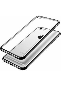 iPhone 5 / 5s  silikonowe etui platynowane SLIM - grafitowy. Etuistudio okazyjna cena Etuistudio - kod rabatowy