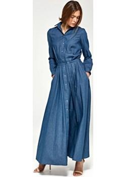 Sukienka maxi z długim rękawem S93 Jeans - Nife Nife Mywear - kod rabatowy