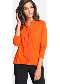 Elegancka bluzka French Bourgeois 11103451  Pomarańczowy 34 Olsen okazyjna cena Olsen - kod rabatowy