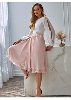 Elegancka sukienka z cekinowym zdobieniem L`AF JOEL okazja Eye For Fashion - kod rabatowy