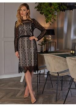 Wieczorowa koronkowa sukienka L`AF LIXA wyprzedaż Eye For Fashion - kod rabatowy