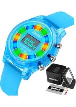 Zegarek dziecięcy SKMEI 1596 niebieski LED Skmei skmei.shop - kod rabatowy