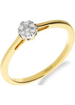 Pierścionek zaręczynowy z diamentem nr NF JRI-983 próba 585 Sezam Jubiler Sezam - kod rabatowy