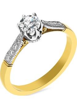 Pierścionek zaręczynowy z diamentami nr MC 20-11-K-17 Sezam Jubiler Sezam - kod rabatowy