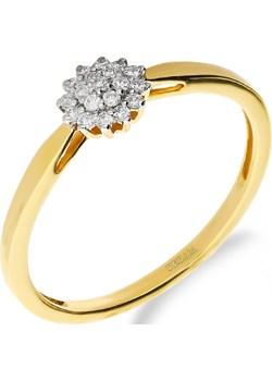 Pierścionek zaręczynowy z diamentami BRIDEL nr NF JRI-984 próba 585 Sezam Jubiler Sezam - kod rabatowy