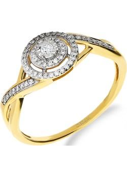 Pierścionek zaręczynowy z diamentami MIRAGE nr NF JRI-971 próba 585 Sezam Jubiler Sezam - kod rabatowy