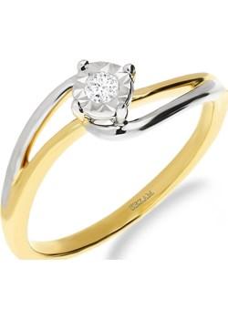 Pierścionek zaręczynowy z diamentem nr NF JRI-970 próba 585 Sezam Jubiler Sezam - kod rabatowy