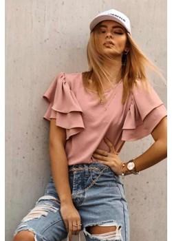 Bluzka NEW SUMMER ROSE wyprzedaż lafemmeboutique.pl - kod rabatowy