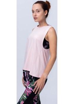 Bluzka bez rękawków jasnoróżowa Reezy Reezy - kod rabatowy