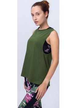 Bluzka bez rękawków zielona Reezy Reezy - kod rabatowy