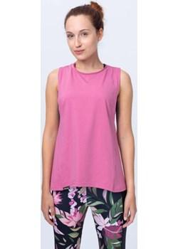 Bluzka bez rękawków ciemnoróżowa Reezy Reezy - kod rabatowy