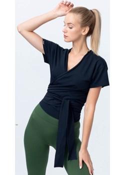 Bluzka wiązana czarna Reezy Reezy - kod rabatowy
