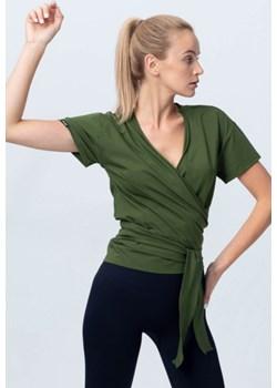 Bluzka wiązana zielona Reezy Reezy - kod rabatowy