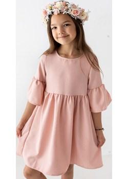Sukienka dla dziewczynki pudrowa 110 Jesień/Zima Wizytowe Myprincess / Lily Grey MKA GROUP - kod rabatowy