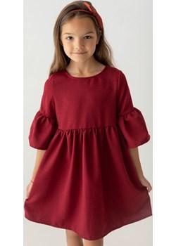 Bordowa sukienka dla dziewczynki 110 Jesień/Zima Myprincess / Lily Grey wyprzedaż MKA GROUP - kod rabatowy