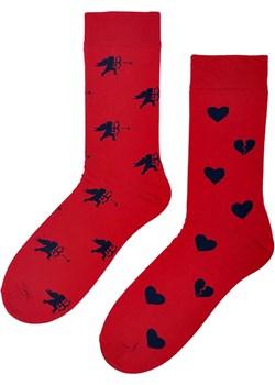 Skarpetki na walentynki amor czerwone Regina Socks Estera Shop - kod rabatowy