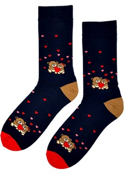 Skarpetki kolorowe w serca i misiaczki Regina Socks Estera Shop - kod rabatowy