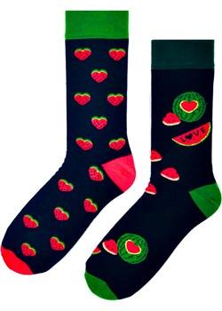 Skarpetki kolorowe nie do pary - soczysty arbuz Regina Socks Estera Shop - kod rabatowy