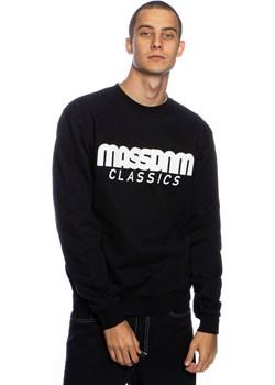 Bluza Mass Denim Sweatshirt Crewneck Classics czarna Mass Denim okazja shop.massdnm.com - kod rabatowy
