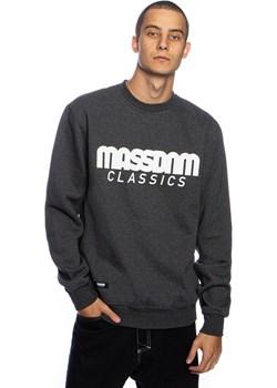 Bluza Mass Denim Sweatshirt Crewneck Classics ciemnoszara Mass Denim wyprzedaż shop.massdnm.com - kod rabatowy