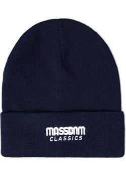 Czapka zimowa Mass Denim Classics Beanie granatowa Mass Denim shop.massdnm.com wyprzedaż - kod rabatowy