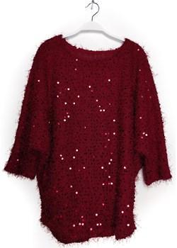 Sweter z cekinami okazja fagobutik.pl - kod rabatowy