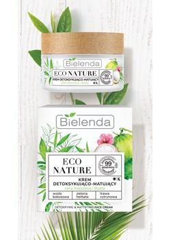 ECO NATURE - Woda kokosowa + Zielona Herbata + Trawa Cytrynowa - krem detoksykująco-matujący, 50 ml Bielenda okazja Bielenda - kod rabatowy