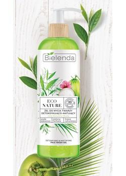 ECO NATURE - Woda kokosowa + Zielona Herbata + Trawa Cytrynowa - żel do mycia twarzy detoksykująco-matujący, 200 g Bielenda wyprzedaż Bielenda - kod rabatowy