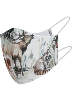 Bawełniana maska dla dziecka 2-6 lat wilki 2-6 lat Mamaiti okazyjna cena Mamaiti - kod rabatowy
