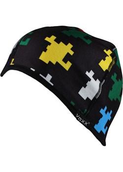 Chłopięca dwustronna czapka VOXX Minecraft czarny Voxx Astratex okazyjna cena - kod rabatowy