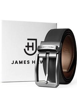 Smart Belt - Czarny/Brązowy  James Hawk okazja   - kod rabatowy