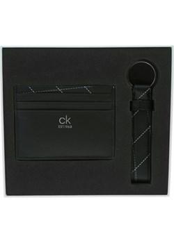 CALVIN KLEIN ZESTAW ETUI NA KARTY + BRELOK Czarny UNI Calvin Klein Mont Brand promocja - kod rabatowy