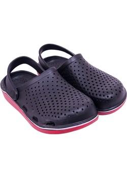 Buty męskie ogrodowe gładkie czarne  40 Yoclub YOCLUB promocyjna cena - kod rabatowy