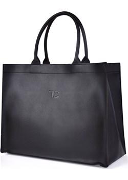FC SHOPPER BAG elegancka torba/torebka czarna Dedra Moja Dedra - domodi - kod rabatowy