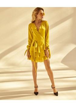Sukienka Lemon Frill żółty S Lago efancy.pl - kod rabatowy
