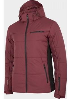 Kurtka narciarska męska KUMN604 - burgund  Outhorn  - kod rabatowy